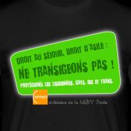Motif ~ LGBT Pride Lyon 2010 - Droit d'asile
