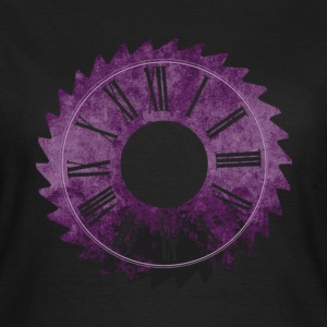 SawClock Purple (clean) - Women's T-Shirt