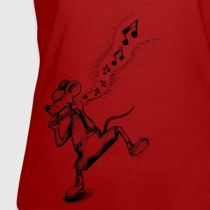 Dark red Mouse Blues Women's T-Shirts - Women's Organic T-shirt