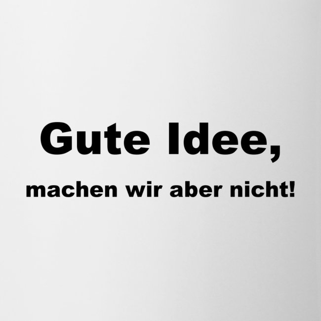 Tasse BDSU Alumni Logo 'Gute Idee'