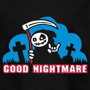 Black good_nightmare_c_3c Kids' Shirts - Teenage T-shirt