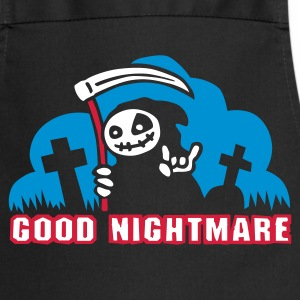 Black good_nightmare_c_3c  Aprons - Cooking Apron
