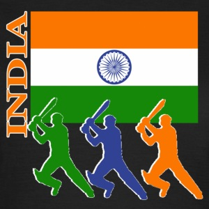 Cricket Players  - India - Women's T-Shirt