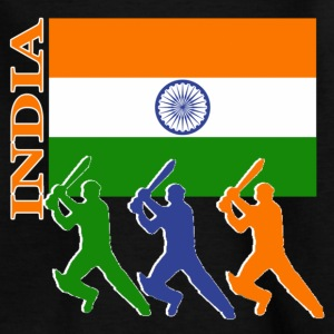 Cricket Players - India - Teenage T-shirt