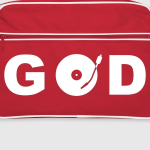 GOD is a DJ - Retroväska