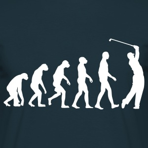 Navy Golf Evolution Golfing  T-Shirts - Männer T-Shirt