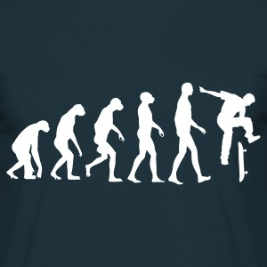 Navy Evolution Skateboarding T-Shirts - Männer T-Shirt