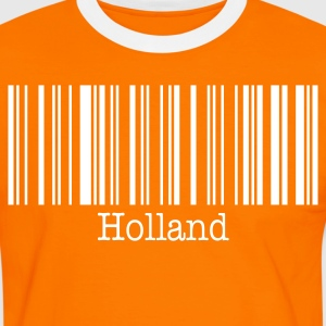 Holland Netherlands Soccer Football 2010 Fan Shirt - Men's Ringer Shirt