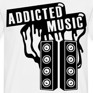 Weiß ADDICTED T-Shirts - T-shirt Homme