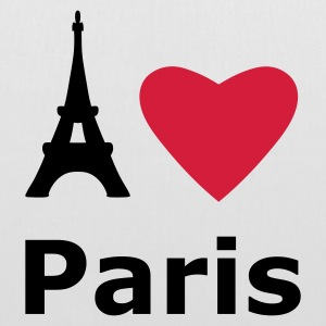 White I love Paris Bags  - Tote Bag