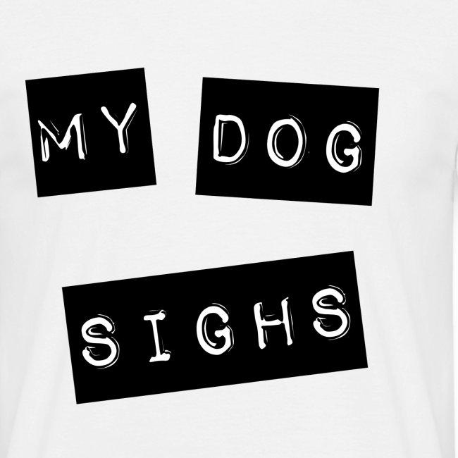 mydog label (front)
