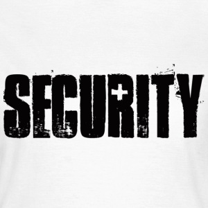 Weiß security T-Shirts - Frauen T-Shirt