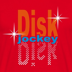 Red discjockey - DJ Men's T-Shirts - Men's T-Shirt