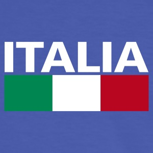 Italia | Italy flag blue t-shirt - Men's Ringer Shirt