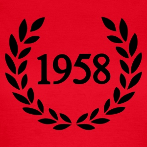Rot 1958 T-Shirts - Frauen T-Shirt