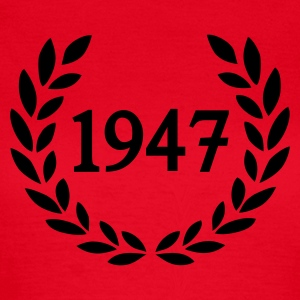Rot 1947 T-Shirts - Frauen T-Shirt