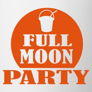 White full moon party Mugs  - Mug