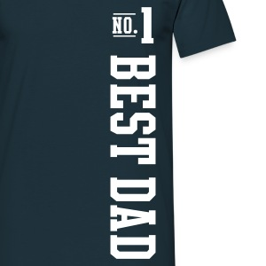 Navy No.1 BEST DAD T-Shirt - Men's T-Shirt