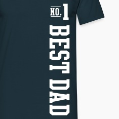 No.1 BEST DAD T-Shirt