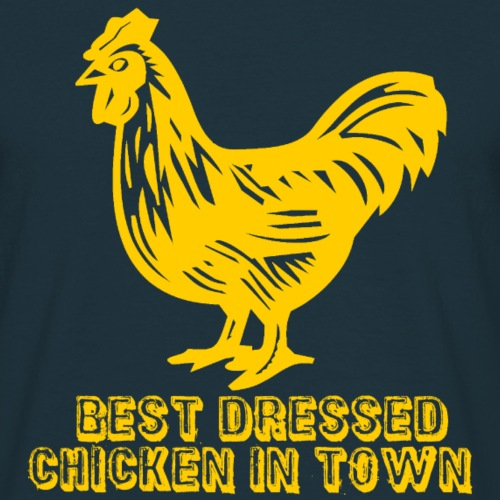 Best Dressed Yellow Chicken