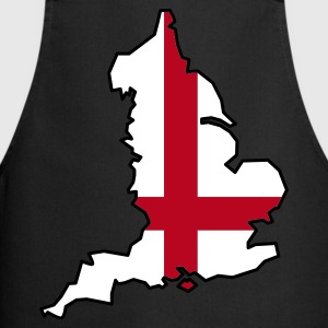 England flag black apron - Cooking Apron