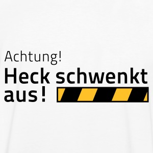 heck men back T-Shirt3 - Männer Kontrast-T-Shirt