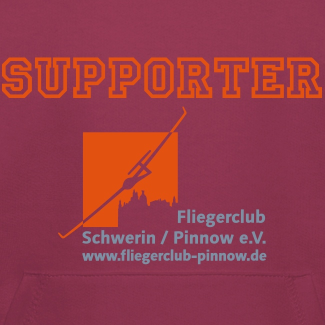 "Kinder Kapuzenpullover ""SUPPORTER"""