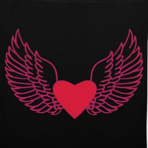 Heart and Wings - Tote Bag