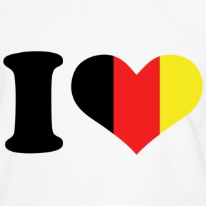 I love Germany - Mannen contrastshirt