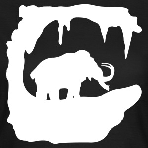 Prehistoric Ice Age mammoth elephant T-Shirts - Women's T-Shirt