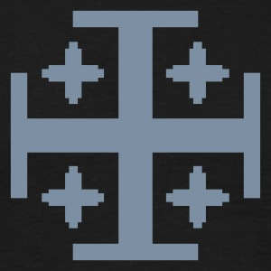 Black 5 Kreuze / 5 crosses (1c) Men's T-Shirts - Men's T-Shirt
