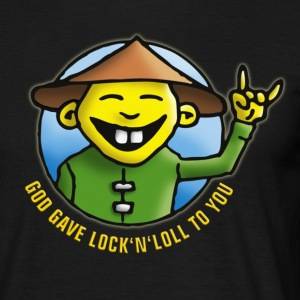 god_gave_lock_and_loll T-shirts - T-shirt herr
