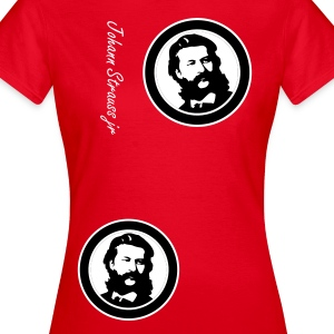 Strauss Girl Extreem Red Lmt. Edition - Vrouwen T-shirt