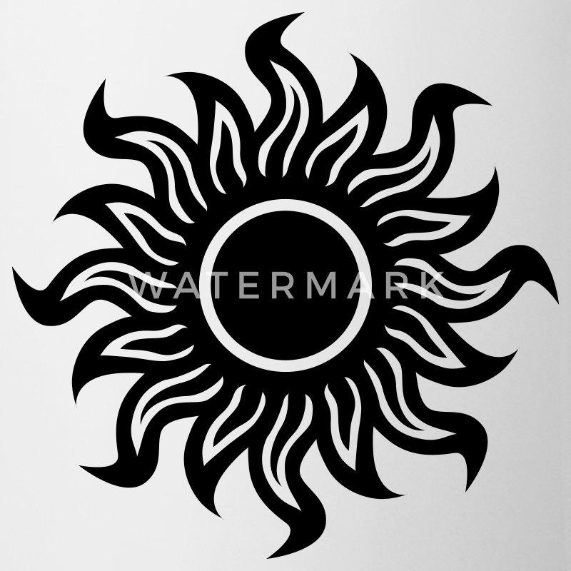 black hole sun schwarze sonne tasse spreadshirt. Black Bedroom Furniture Sets. Home Design Ideas