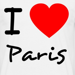 I love Paris - Männer T-Shirt