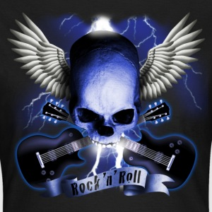 skull_and_wings_and_guitars_b Tee shirts - T-shirt Femme