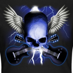 skull_and_wings_and_guitars T-Shirts