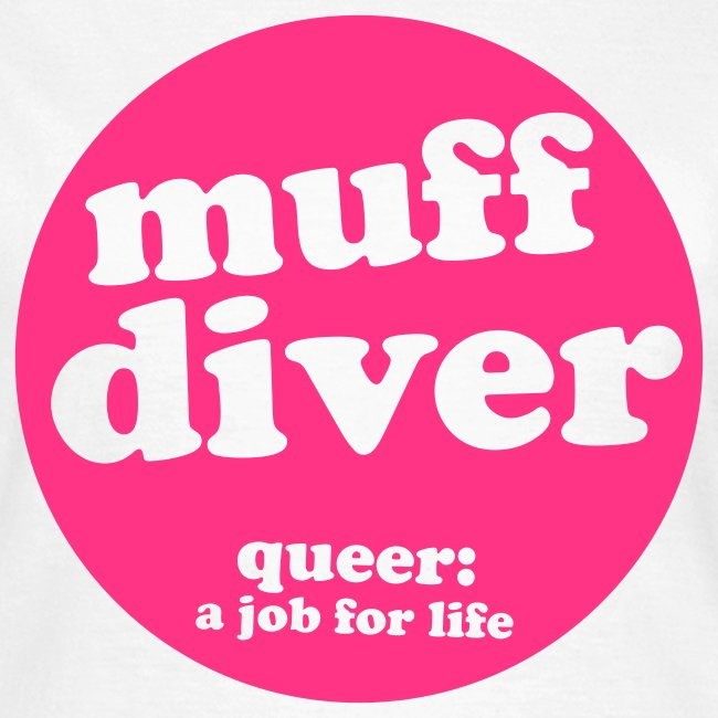 muff diver pink