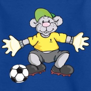 Fußball MoMouse Kinder T-Shirts - Teenager T-Shirt