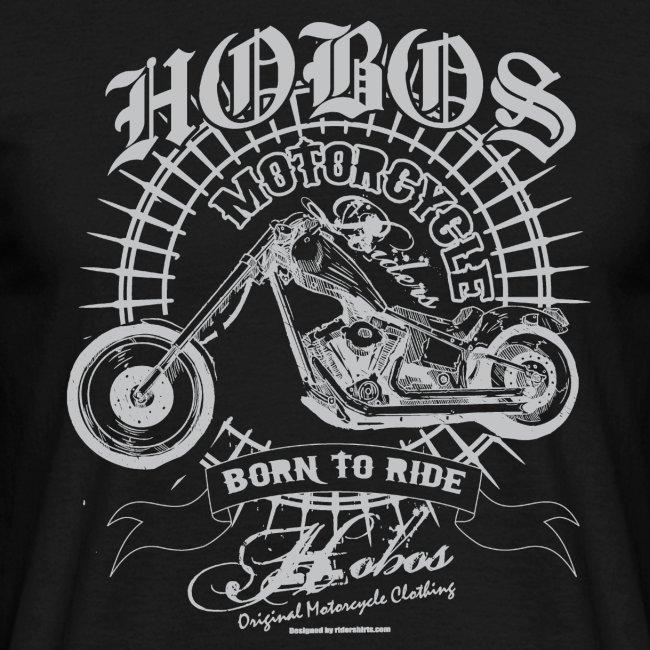 HOBOS  T-shirts  biker