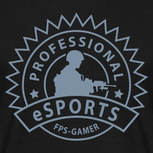 Black gamer eSports Men's T-Shirts - Men's T-Shirt