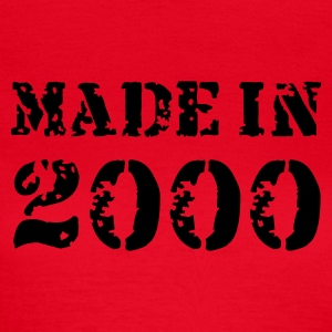 Rot Made in 2000 T-Shirts - Frauen T-Shirt