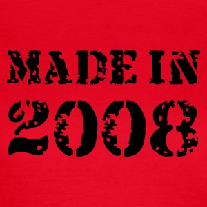 Rot Made in 2008 T-Shirts - Frauen T-Shirt