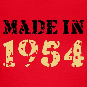 Rot Made in 1957 T-Shirts - Frauen T-Shirt