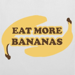 White Eat more bananas - Eat more bananas Bags  - Tote Bag