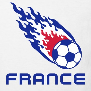 France Football Fireball - T-shirt Bio Enfant