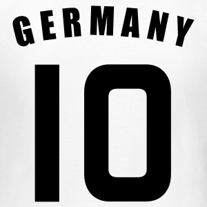 Weiß GERMANY Deutschland fútbol calcio football Fußball Länder countries WM cup Sports - eushirt.com T-Shirts - Frauen T-Shirt