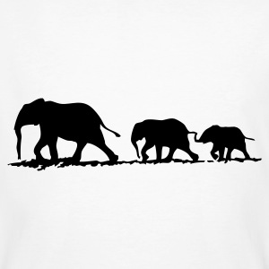 Black elephants - Men's Organic T-shirt