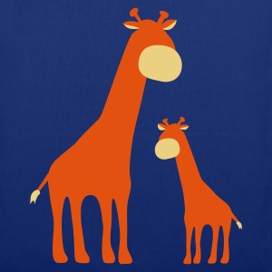 Royal blue Giraffes Bags  - Tote Bag