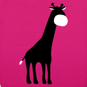 Magenta Giraffe Bags  - EarthPositive Tote Bag
